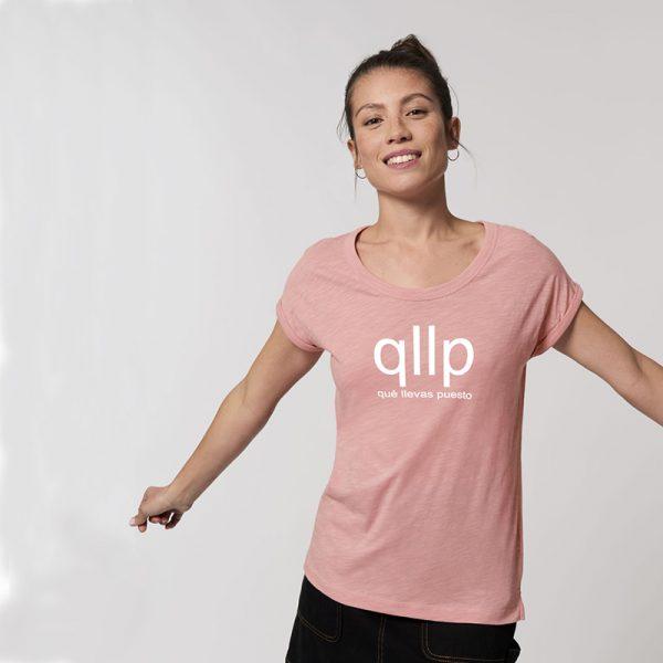 Stella Rounder Slub_Canyon Pink_qllp_blanco_Front1